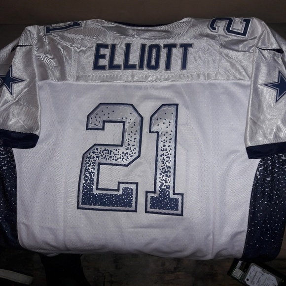 official photos 78eb8 a38ae Dallas Cowboys Zeke Elliott Jersey #21